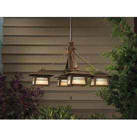 Kichler Lighting 15409OZ Zen Garden - Four Light Chandelier