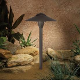 Kichler Lighting 15410AZT 12V Landscape Path and Spread Light