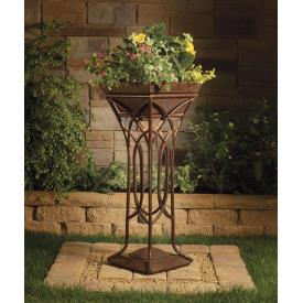 Kichler Lighting 15415TZT Cathedral - Low Voltage One Light Standing Planter