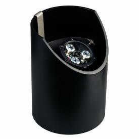 Kichler Lighting 15768BKT Low Voltage 35 Degree LED Well Light