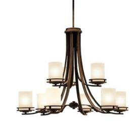 Kichler Lighting 1674OZ Hendrik - Nine Light Two Tier Chandelier