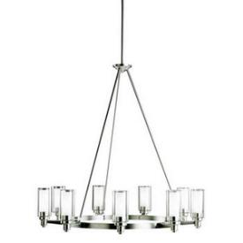 Kichler Lighting 2346NI Circolo - Nine Light Chandelier