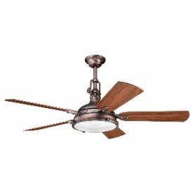 "Kichler Lighting 300018OBB Hatteras Bay - 56"" Porthole Fan"