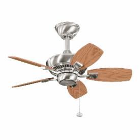 """Kichler Lighting 300103BSS Canfield - 30"""" Ceiling Fan"""
