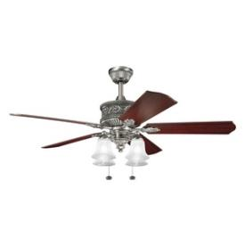 "Kichler Lighting 300161AP Corinth - 52"" Ceiling Fan"