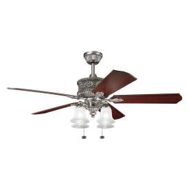"Kichler Lighting 300161AP Corinth - 52"" Ceiling Fan"