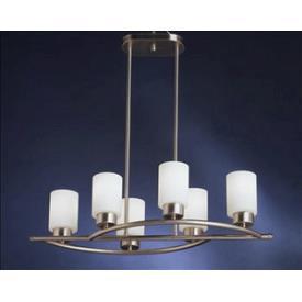 Kichler Lighting 3031NI Modena - Six Light Inverted Pendant