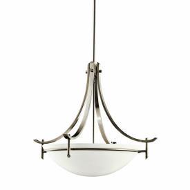 Kichler Lighting 3278AP Olympia - Three Light Inverted Pendant