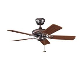 "Kichler Lighting 337013OBB Sutter Place - 42"" Ceiling Fan"