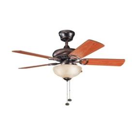 "Kichler Lighting 337014OBB Sutter Place Select - 42"" Ceiling Fan"