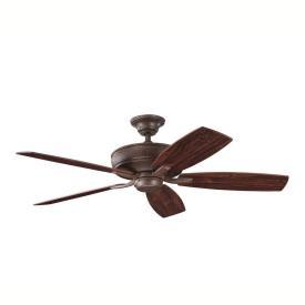 """Kichler Lighting 339013 Monarch II - 52"""" Ceiling Fan"""
