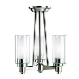 Kichler Lighting 3743NI Circolo - Three Light Semi-Flush Mount
