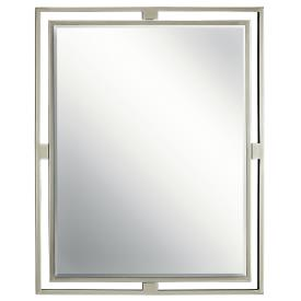 "Kichler Lighting 41071NI Hendrik - 24"" Mirror"