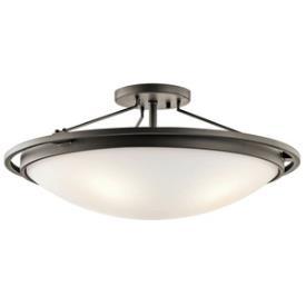 Kichler Lighting 42025OZ Four Light Semi-Flush Mount