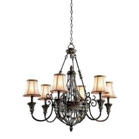 Kichler Lighting 42227TRZ Marchesa - Six Light Chandelier