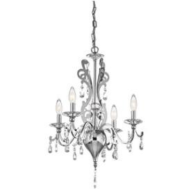 Kichler Lighting 42338CH Rizzo - Four Light Mini-Chandelier