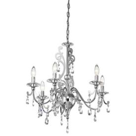 Kichler Lighting 42339CH Rizzo - Six Light Chandelier