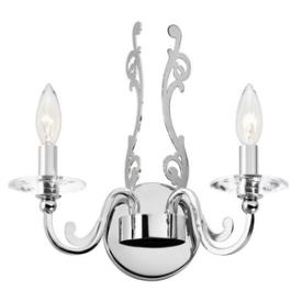 Kichler Lighting 42341CH Rizzo - Two Light Wall Sconce