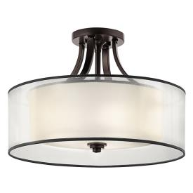 Kichler Lighting 42387MIZ Lacey - Four Light Semi-Flush Mount