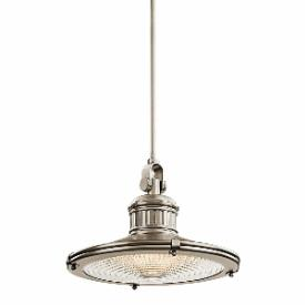 Kichler Lighting 42438AP Sayre - One Light Pendant