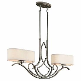 Kichler Lighting 42480OZ Leighton - Four Light Island