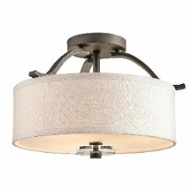 Kichler Lighting 42485OZ Leighton - Three Light Flush Mount