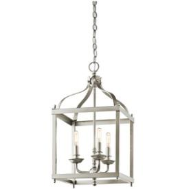Kichler Lighting 42566NI Larkin - Three Light Cage Foyer