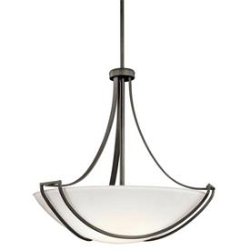 Kichler Lighting 42654OZ Owego - Four Light Inverted Pendant
