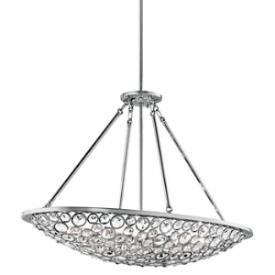Kichler Lighting 42666CH Liscomb - Ten Light Oval Chandelier