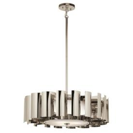 Kichler Lighting 42836PN Ziva - Three Light Pendant