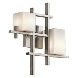 Kichler Lighting 42942CLP City - Two Light Wall Sconce