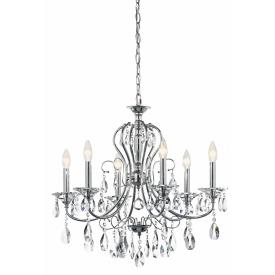 Kichler Lighting 43121CH Jules - Six Light Chandelier