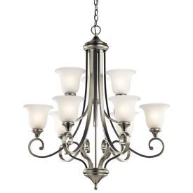 Kichler Lighting 43159NI Monroe - Nine Light Chandelier