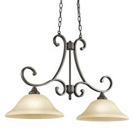 Kichler Lighting 43160OZ Monroe - Two Light Island