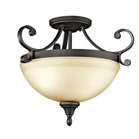 Kichler Lighting 43169OZ Monroe - Two Light Semi-Flush Mount