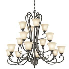 Kichler Lighting 43178OZ Feville - Sixteen Light Chandelier