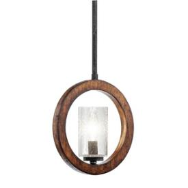 Kichler Lighting 43189AUB Grand Bank - One Light Mini-Pendant