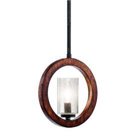 Kichler Lighting 43189AUB Grand Bank - One Light Mini-Pendant