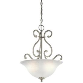 Kichler Lighting 43227NI Camerena - Three Light Inverted Pendant