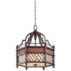 Kichler Lighting 43249CYZ Rum Cove - Three Light Pendant