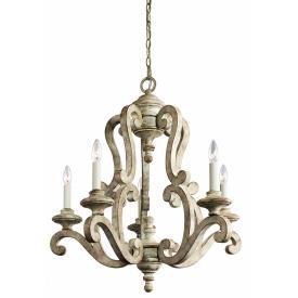 Kichler Lighting 43256DAW Hayman Bay - Five Light Chandelier
