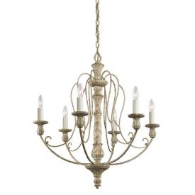 Kichler Lighting 43257DAW Hayman Bay - Six Light Chandelier