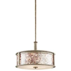 Kichler Lighting 43262DAW Hayman Bay - Three Light Pendant