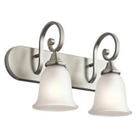 Kichler Lighting 45054NI Monroe - Two Light Bath Vanity