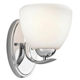 Kichler Lighting 45117CH Calleigh - One Light Wall Sconce