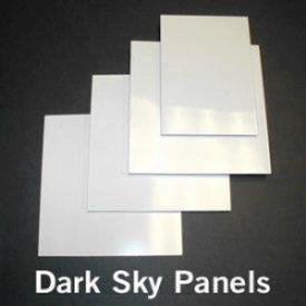 Kichler Lighting 4814WH Accessory - Dark Sky Panel Set