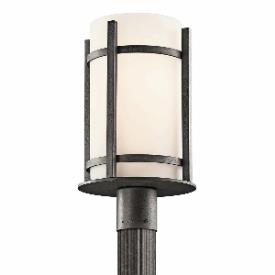 Kichler Lighting 49123AVIFL Camden - One Light Outdoor Post Mount