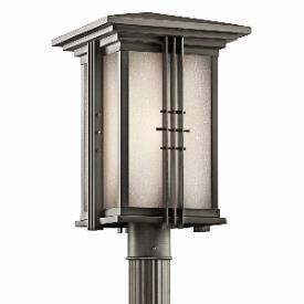 Kichler Lighting 49163OZ Portman - One Light Outdoor Post Mount
