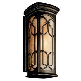 Kichler Lighting 49229OZ Franceasi - One Light Outdoor Wall Mount