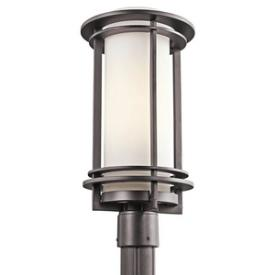 Kichler Lighting 49349AZ Pacific Edge - One Light Outdoor Post Lantern